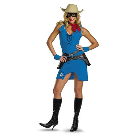 Adult Sassy Lone Ranger Costume Disguise 16116