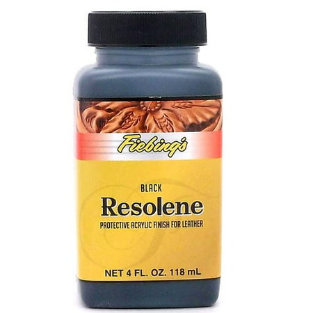Fiebings Acrylic Resolene Dye Top Finish 4oz- Neutral