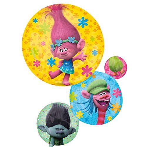Anagram Dreamworks Trolls Supershape Foil Balloon