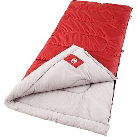Coleman Palmetto 40 Degrees Cool Weather Adult Sleeping Bag ()