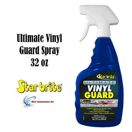 Ultimate Vinyl Guard w/ PTEF Adds UV Protection StarBrite 95932 Car Motor (Best Dog Guard For Car)