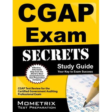 Cgap Exam Secrets Study Guide : Cgap Test Review for the Certified Government Auditing Professional