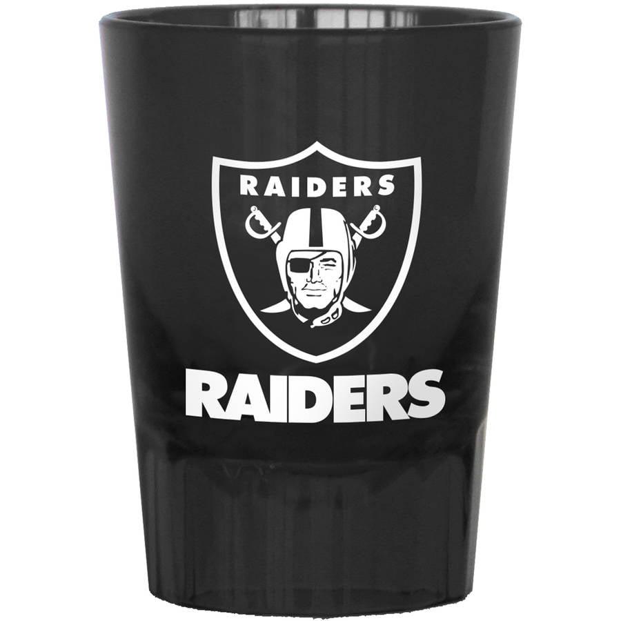 NFL Oakland Raiders 4-Pack Plastic Shot
