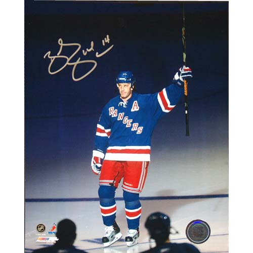Steiner Sports NHL Brendan Shanahan Salute the New York Crowd Photograph