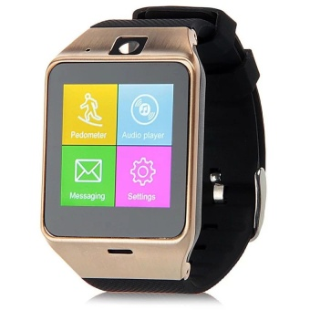 TechComm GV18 Smart Watch & Fitness Activity Tracker with Camera for Android Only