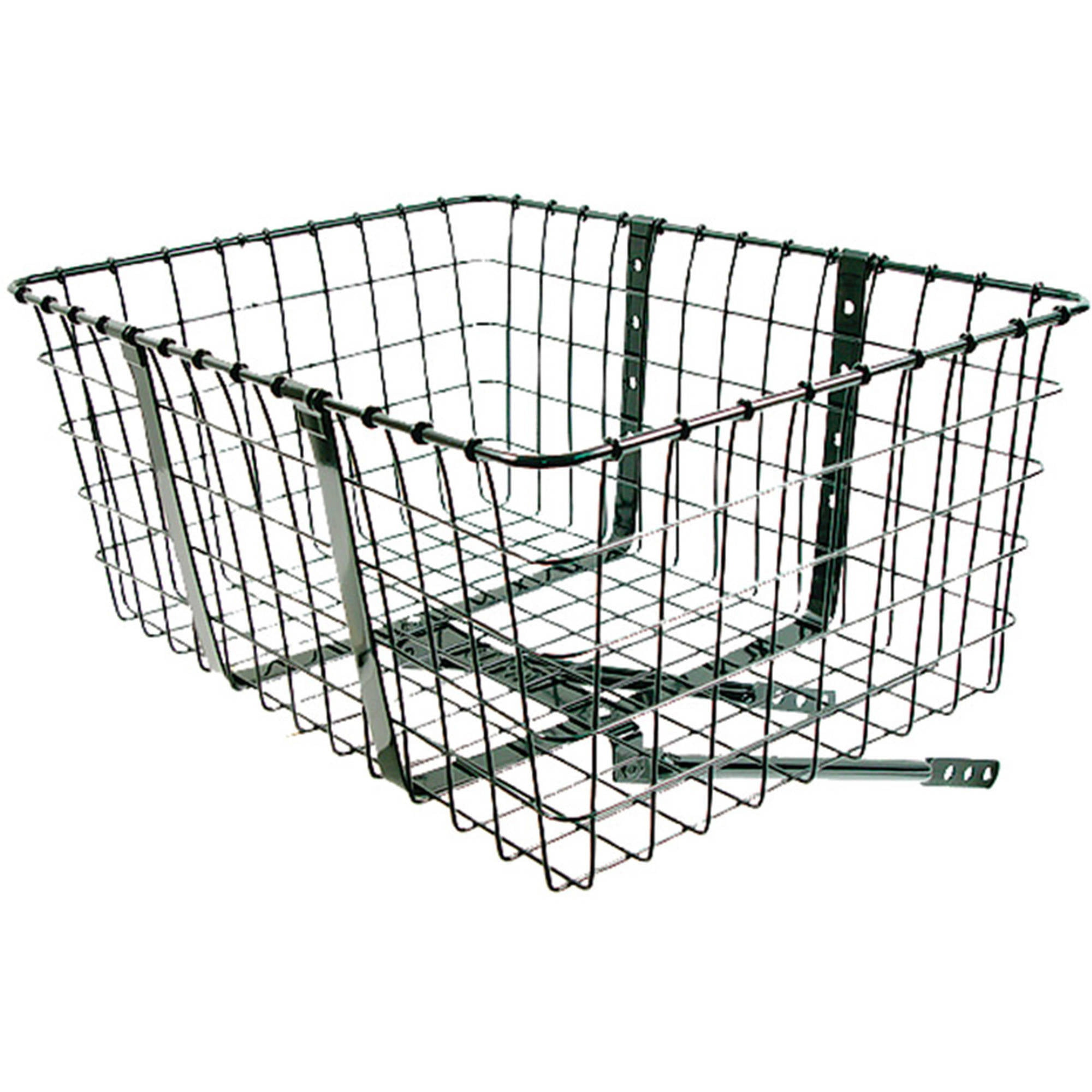 Wald 157 Front Giant Delivery Bicycle Basket 21 x 15 x 9 Black