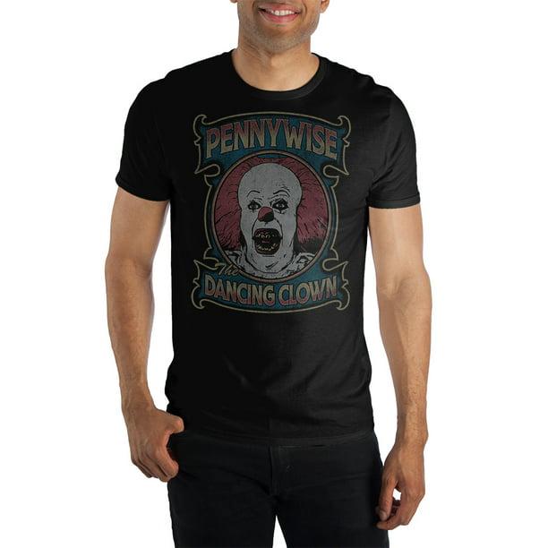 IT Pennywise Clown MEN Kids Boy Girl T-Shirt Halloween Scary Horror Tv Film Gift