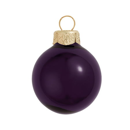 Northlight 40ct Shiny Glass Ball Christmas Ornament Set 1.5