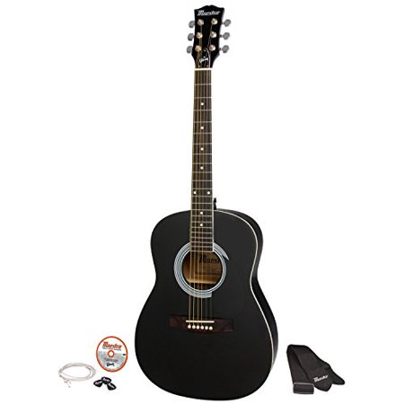 maestro by gibson single cutaway electric guitar starter pack cherry sunburst. Black Bedroom Furniture Sets. Home Design Ideas