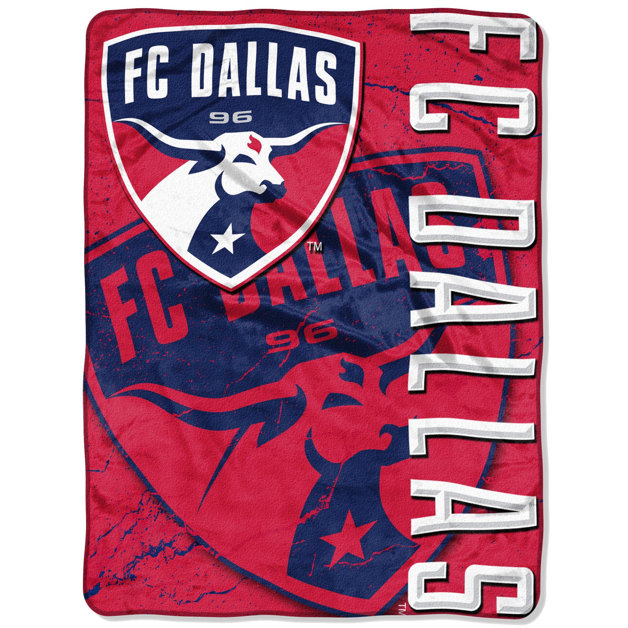 "FC Dallas The Northwest Company 46"" x 60"" Concrete Raschel Throw Blanket - Red - No Size"