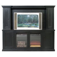 Eagle Furniture Coastal 79.75 in. Entertainment Console with Optional Hutch