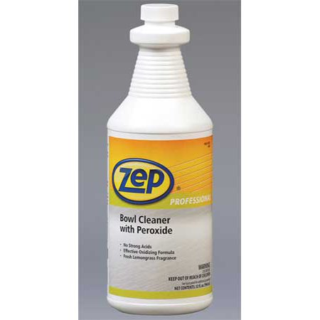 Zep Professional R00501 32 Oz Toilet Bowl Cleaner Green