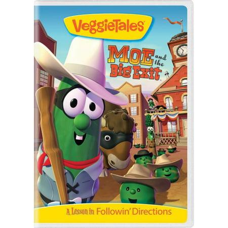 Veggie Tales: Moe & The Big Exit (DVD) (Veggie Tales Halloween)