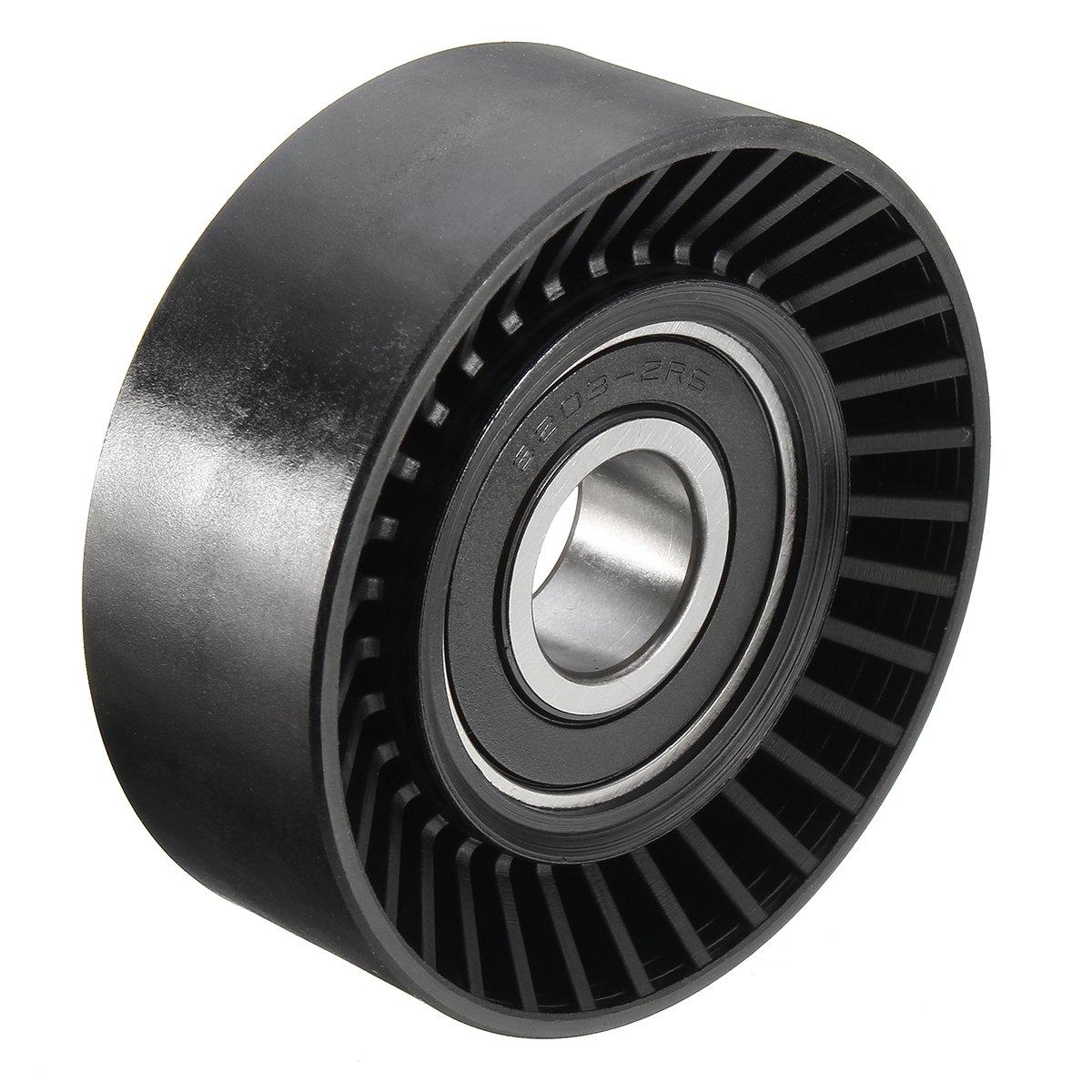 Fan Belt Tensioner Pulley Wheel V Ribbed Idler Roller For