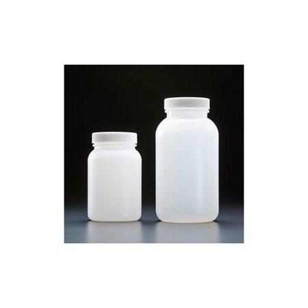 High Density Polyethylene Wide Mouth Jars, Precleaned