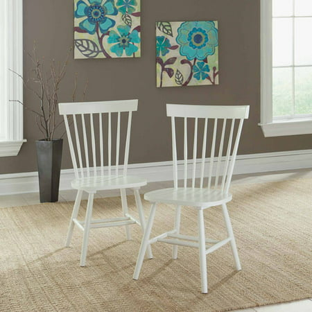 Sauder Cottage Road Spindle Back Chairs, Set of 2, Multiple Colors Antique Spindle Back Chairs