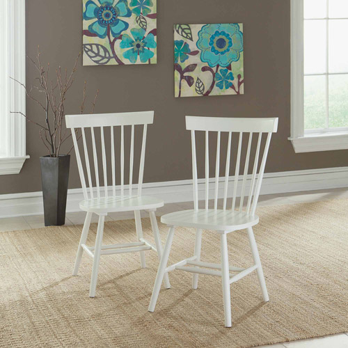 Sauder Cottage Road Spindle Back Chairs, Set of 2, Multiple Colors