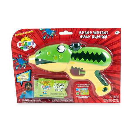 Ryan's World Gus Instant Slime Shooting Blaster