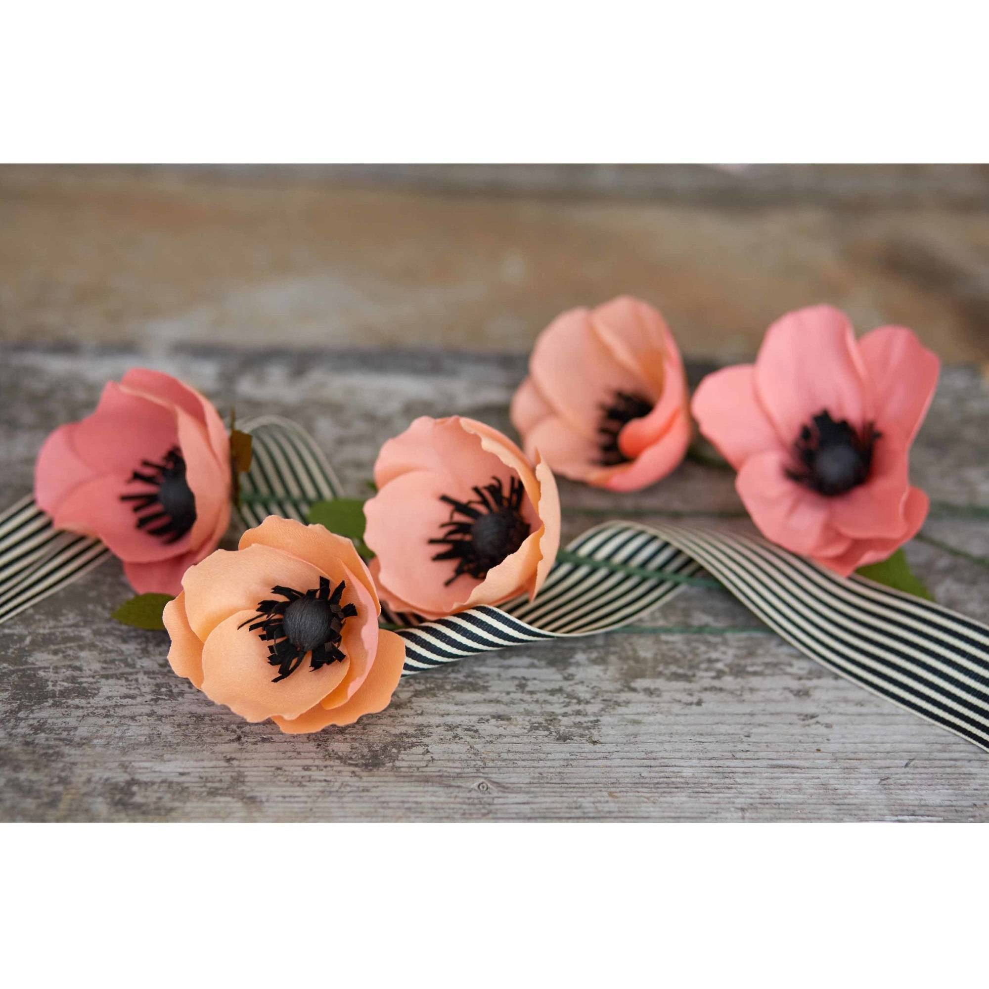 Lia Griffith Double Sided Crepe Paper Blush Peach Pack 2 Sheets