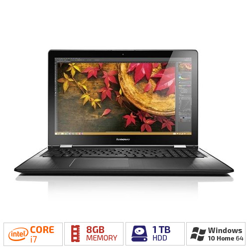 "Lenovo Flex 3-1580 Tablet PC - 15.6"" - Wireless LAN - Intel Core i7 i7-6500U Dual-core (2 Core) 2.50 GHz - Black"