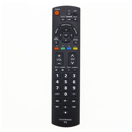 Replacement TV Remote Control for Panasonic TC-P60ST60 Television - image 2 de 2
