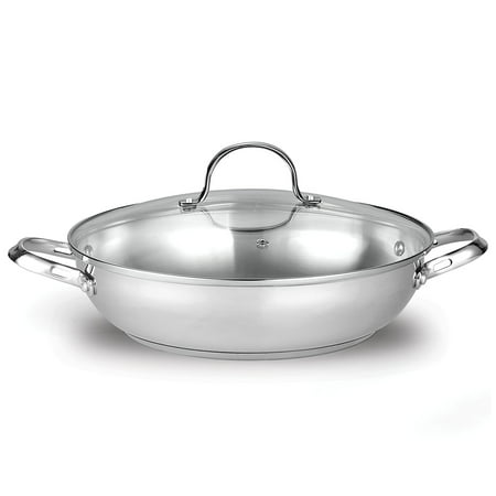 Cooks Standard Classic 12-Inch/30cm Stainless Steel Everyday Chef Stir Fry Pan ()