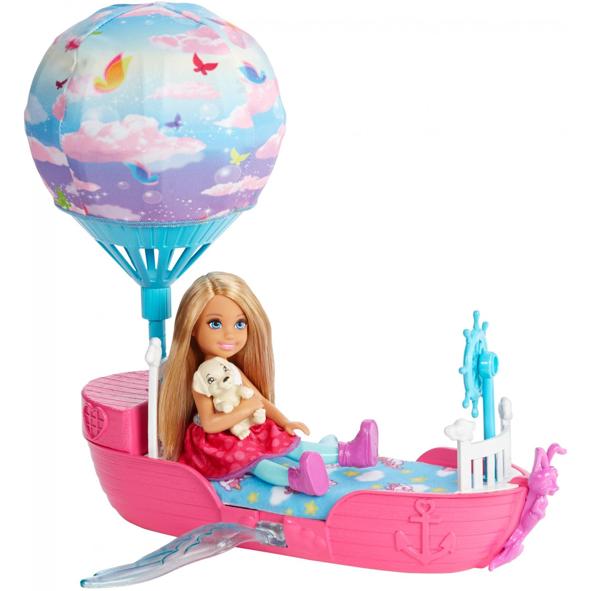 Mattel Inc. Barbie Dreamtopia Chelsea Doll And Magical Dreamboat