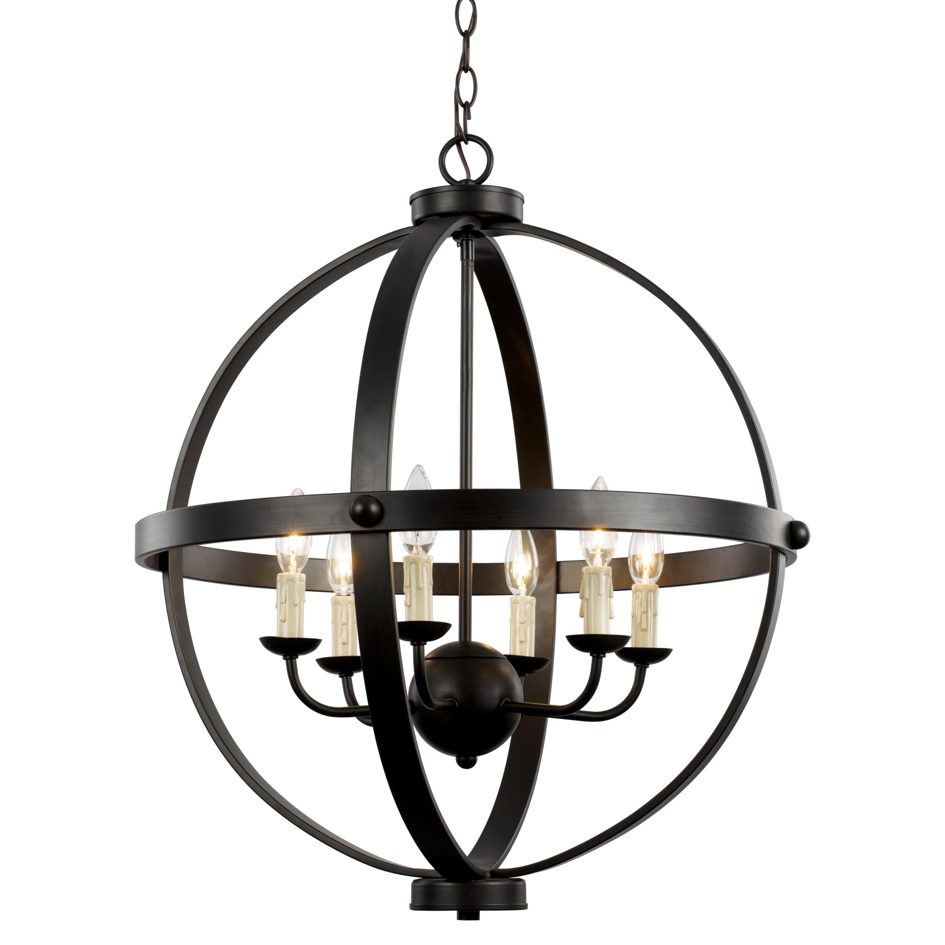 old world chandelier - Sphere Chandelier