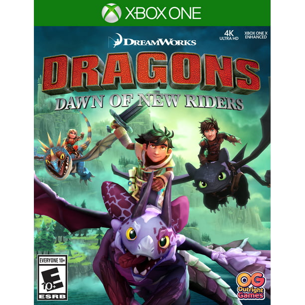 Dragons Dawn Of New Riders Outright Games Xbox One