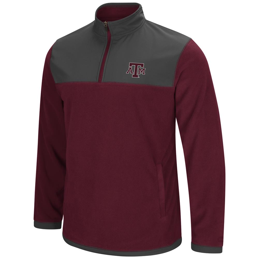 Texas A&M Aggies Men's Full Zip Fleece Jacket by Colosseum