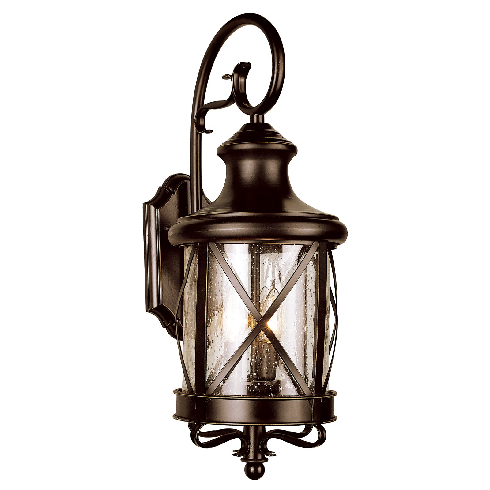 Bel Air Davis City Outdoor Wall Light - 19.5H in.