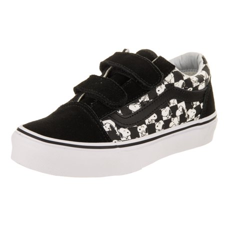 Vans Kids Old Skool V (Peanuts) Skate Shoe](Vans Shoes For Kids)