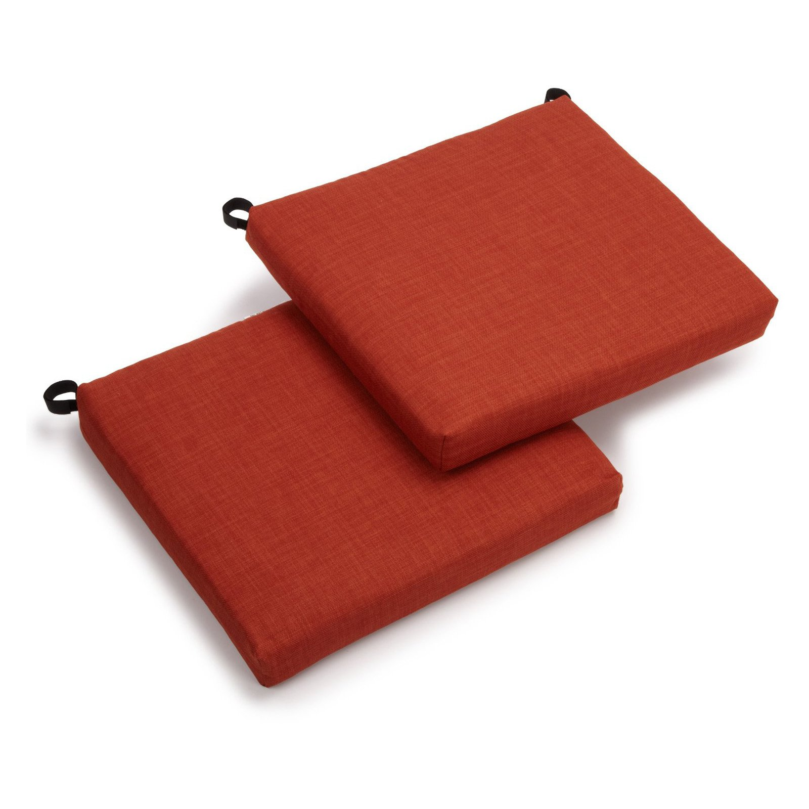 Blazing Needles 19 x 21 in. Outdoor Chair Cushions - Set of 2