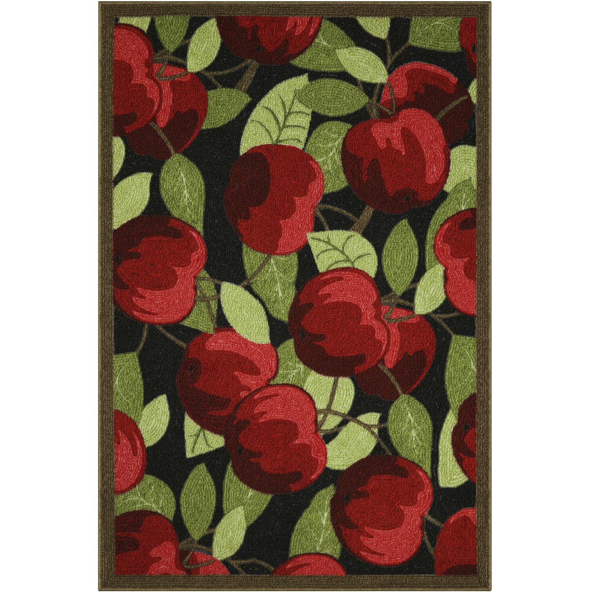 better homes and gardens apples kitchen print rug 1 8 x 2 10