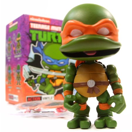 Michelangelo Mutant Ninja Turtle (Loyal Subjects TMNT Wave 2 Mystery Mini - Michelangelo)