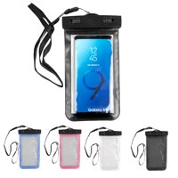 Waterproof Underwater Pouch Dry Bag Case Cover Cell Phone Protective Shell Underwater Shooting for Swimming Rafting Boating Snowproof for Snowing Skiing Skating Dirtproof
