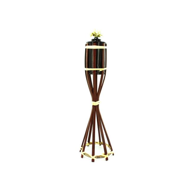 Bulk Buys GH246-50 Wicker Tiki Torch
