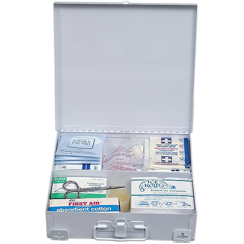 DMI Metal 50-Person First Aid Kit
