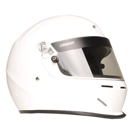 Conquer Snell SA2015 Aerodynamic Vented Full Face Auto Racing Helmet