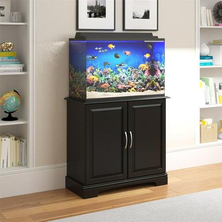 Ameriwood Home Alta Vista 29 - 37 Gallon Aquarium Stand, Multiple Colors (Decorative Fish Tank Stands)