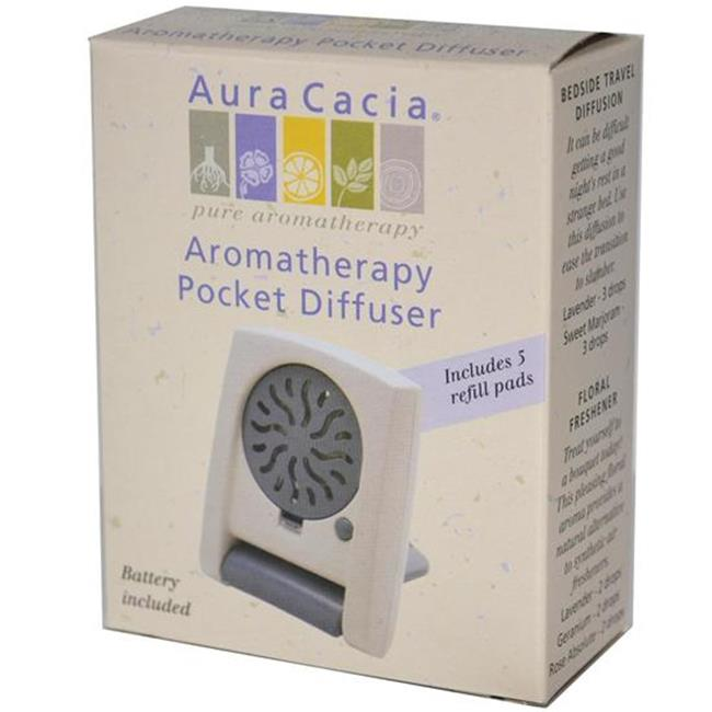 Frontier Natural Products Co-op 191327 Aura Cacia Pocket Diffuser