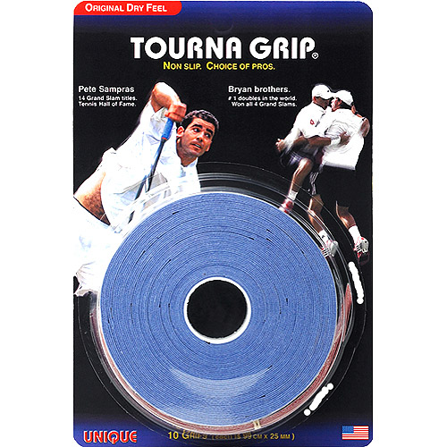 Tourna-Grip Blue 10-Pack by Unique