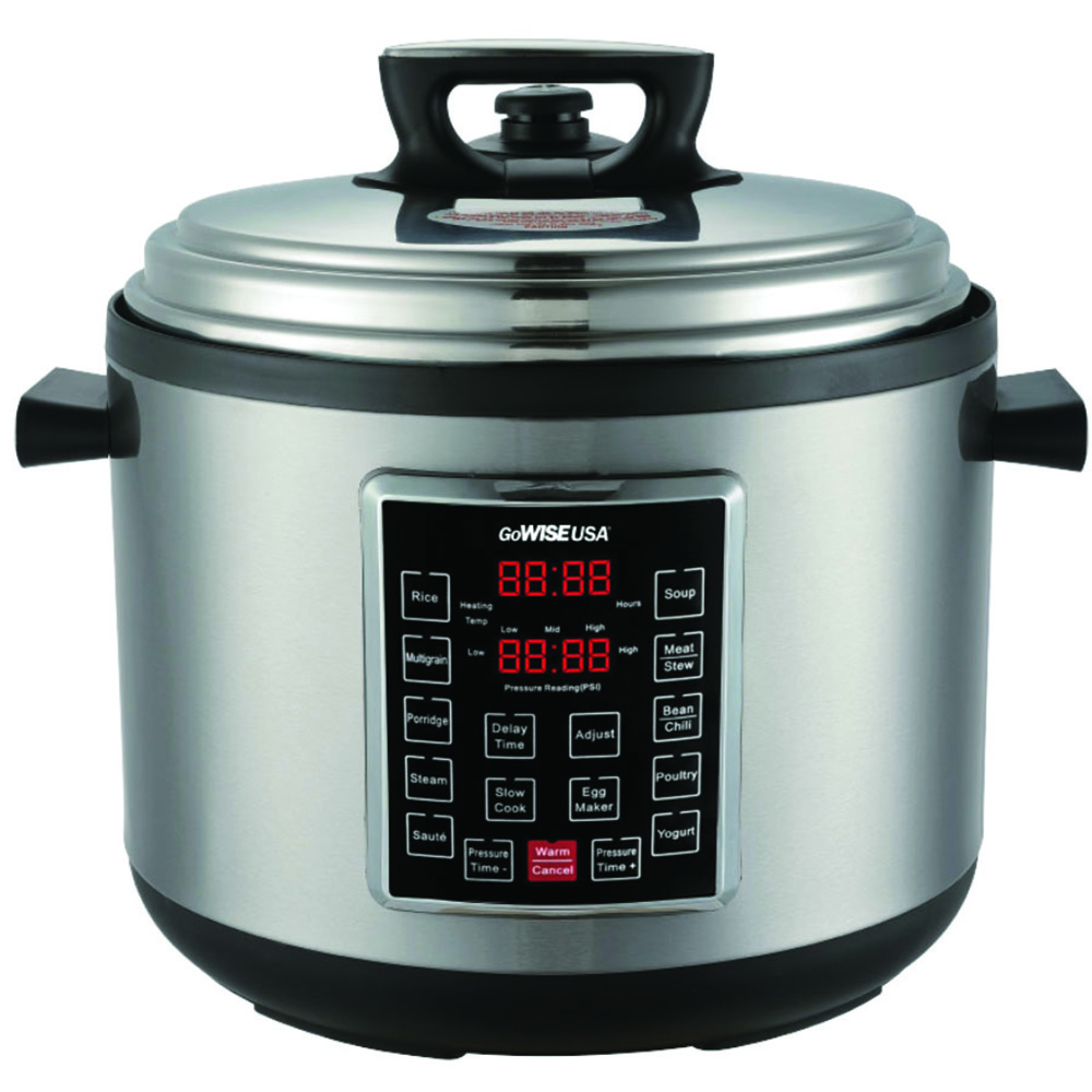 Best Electric Pressure Cookers - GoWISE USA GW22637 4th-Generation Electric Pressure Cooker Review