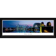 Sydney, Australia at Twilight - Blakeway Panoramas Print