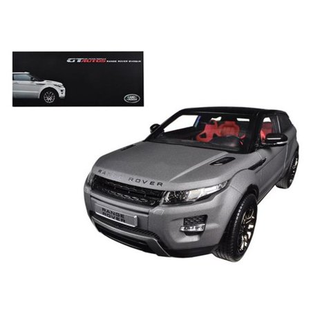Range Rover Evoque Grey 2 Doors 1/18 Diecast Car Model by Welly ()