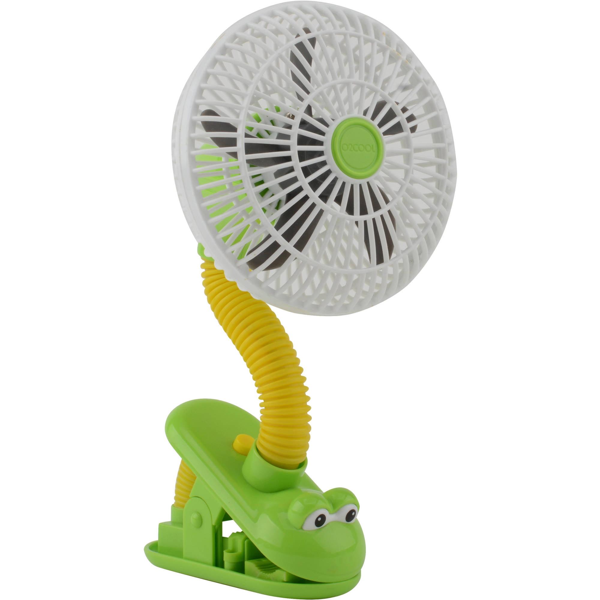 """O2COOL 4"""" Frog Clip Fan"""
