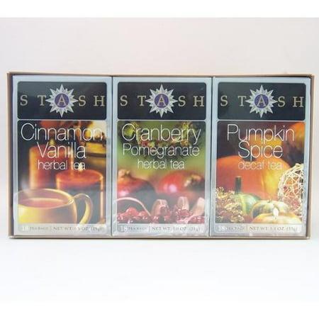 Autumn Trio Gift Set Stash Tea 3  Bags