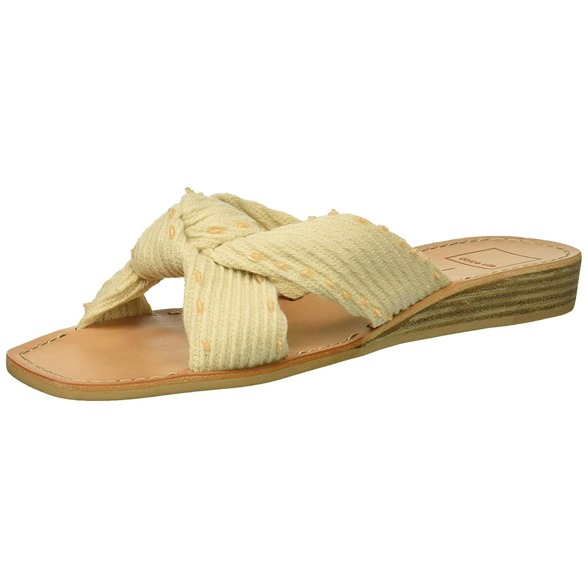 33a539f01 Dolce Vita Womens havva Open Toe Casual Slide Sandals | Walmart Canada