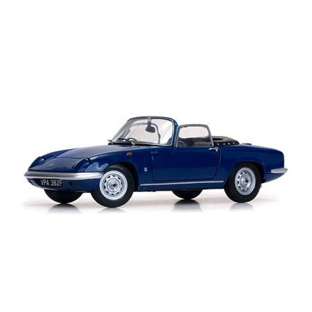 1966 Lotus Elan SE Roadster Royal Blue 1/18 Diecast Model Car by Sunstar
