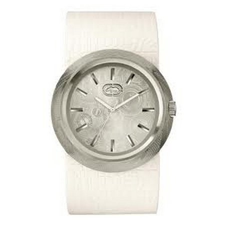Marc Ecko Watches The Eero E11534G2 Mens White Textured Watch - Marc Ecko Unisex Watch